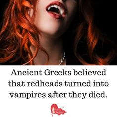Supernatural Myths on Redheads | How to be a Redhead