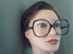 Retro Marc Jacobs Oversized Eyeglasses Tortoise Huge Vintage