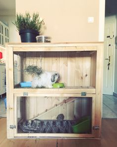 Diy rabbit cage ☺️