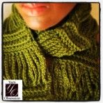 Crochet Scarf Pattern Chains - $5.00