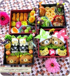 Cooking Gallery: Adorable Rilakkuma Bento #kawaii #rilakkuma