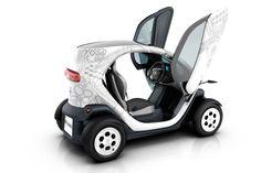 2011 Renault Twizy EV in White