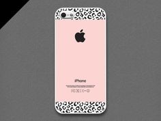 Light Pink And Animal Print iPhone Case .:JuSt*!N*cAsE:.