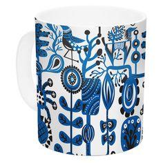 East Urban Home Dream by Agnes Schugardt 11 oz. Ceramic Coffee Mug