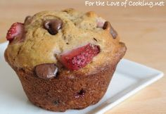 Banana Strawberry Chocolate Chip Muffins .... I've made these & they are gooood :)