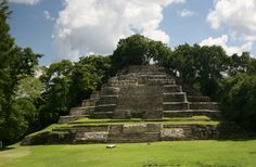 Lamanai - Lakeside Center of Belize Archaeology of the Central American Country of Belize.