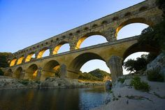 size: Photographic Print: The Pont du Gard Roman Aquaduct Over the Gard River, Avignon, France by Jim Zuckerman : Artists Pont Du Gard, France Travel, Travel Europe, Budget Travel, Travel Guide, Caribbean Cruise, Royal Caribbean, London Pubs, Paris Photos
