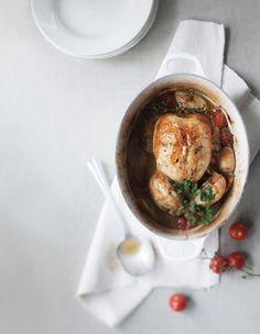 Provencen kananpoikaa, resepti – Ruoka.fi