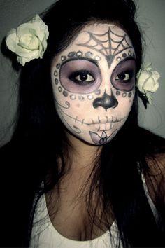 fun sugar skull makeup for halloween