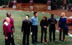 "Behind the Scenes: Filming ""Star Trek: Insurrection""  #startrek"