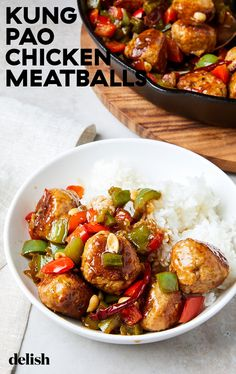 If you are looking to spice up your routine chicken dinners look no further. Asian Recipes, Beef Recipes, Cooking Recipes, Healthy Recipes, Asian Foods, Cooking Ideas, Chicken Meatball Recipes, Chicken Meatballs, Bon Appetit