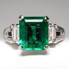 emerald and platinum