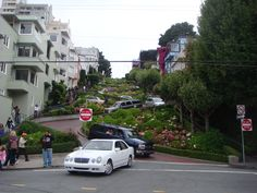 Lombard Street in San Francisco, CA
