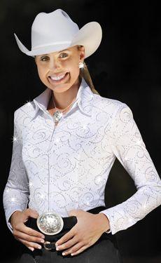 white show blouse
