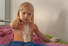 """Masha was born with a congenital heart defect known as """"Chernobyl heart."""" Children like Masha are still affected by the 1986 nuclear disaster in Ukraine. Our grant award helped fund her heart surgery, so she can lead a long, healthy life."""
