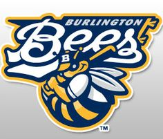 Burlington Bees, Class A minor league baseball... Midwest League