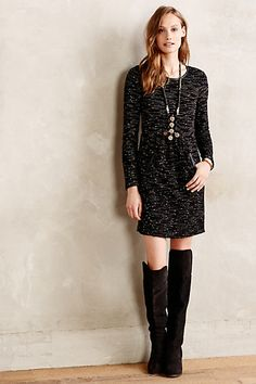 82d650fa35628 Stargazer Dress - anthropologie.com Outfits 2014, Yoga Fashion, Stargazer,  Fit Flare