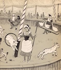 Mister Penny's Circus by Marie Hall Ets (1961).