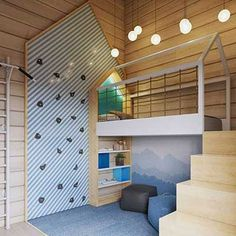 Sibling Bedroom Design Tips for a Small Apartment Children's room – Home Decoration Trendy Bedroom, Cozy Bedroom, Bedroom Decor, Bedroom Ideas, Bedroom Lighting, Bedroom Loft, Scandinavian Bedroom, Girls Bedroom, Bedroom Lamps