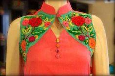 designer churidar neck designs - Google Search