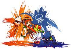 Splatoon seems to be developing quite the fan art following already.... - NeoGAF