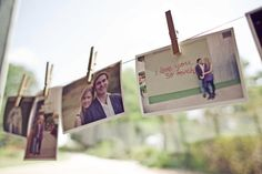 i love clothespins! and we have a lot of photos...