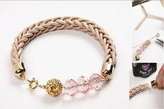 DIY Bracelet! Really pretty!