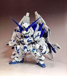 GUNDAM GUY: SD RX-0 Full Armor Unicorn Gundam Plan B - Customized Build