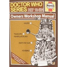 The 69 best haynes manuals dummies images on pinterest manual doctor who mens haynes dalek owners manual t shirt fandeluxe Images