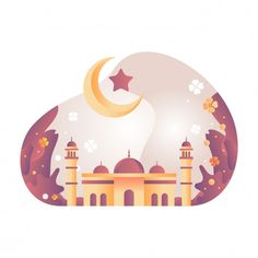 Islamic Art Pattern, Pattern Art, Wallpaper Ramadhan, Abu Dhabi, Pink Mosque, Mosque Vector, Ramadan Poster, Mosque Silhouette, Islamic Cartoon