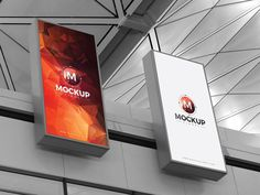 Free Expo Billboards Mockup by Mockup Planet