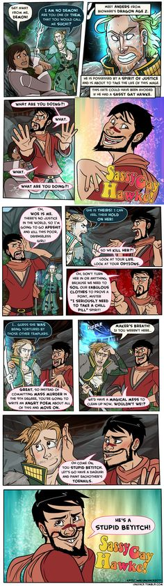 Sassy Gay Hawke! i will love this for the rest of my life!