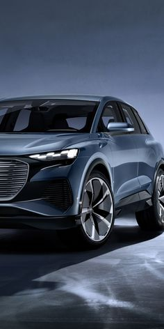 imposing wallpaper 2019 Audi e-tron concept, concept electric car, wallpaper - Free Large Images Audi Q4, Samsung Galaxy Mini, Suv Trucks, Microsoft Lumia, Wallpaper Gallery, Free Hd Wallpapers, Electric Car, Exotic Cars, Luxury Cars