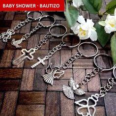 llaveros mini baby shower bautizo bebe angeles ositos cruz