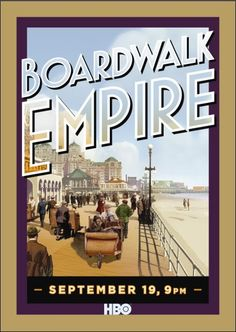BOARDWALK EMPIRE (2011-) Starring Steve Buscemi, and Kelly MacDonald in a prohibition era story.