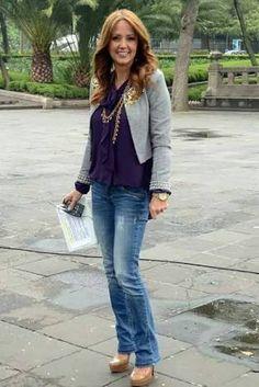 blazer gris outfit - Buscar con Google