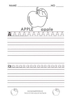 ALPHABET TRACING WORKSHEETS FOR KIDS & PRESCHOOLERS A-Z – FREE DOWNLOAD