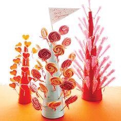 Ultra-Creative Candy Centerpieces