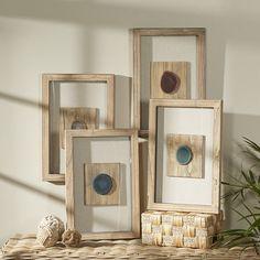 4 Piece Gray Wall Decor Set | Birch Lane