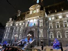 Montreal City Hall by Ed Bilodeau, via Flickr