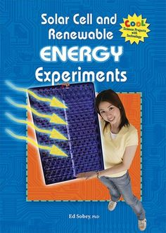 Give renewable energy a try! Solar, wind, and hydropower can be used to offset the use of fossil fuels. The projects in this book teach young readers about solar cells, electricity, and energy. Experiment with simple ways of using renewable energy to power different devices. Many experiments include ideas you can use for your own science fair projects.