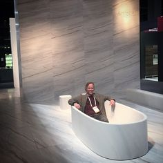 Do you think this tub will be @amie_yancey approved for our new house? Check out these other bathroom ideas http://freshome.com/2014/04/14/30-modern-bathroom-design-ideas-private-heaven/. #GOLIATHCOMPANY #FLIPPINGVEGAS #SCOTT_YANCEY #AMIE_YANCEY #Antolini