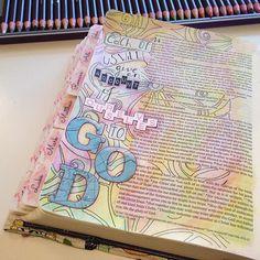 Bible journaling, illustrated faith, by Bexa @artybexa Instagram photos   Websta