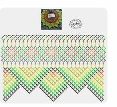 Diy Necklace Patterns, Bead Loom Patterns, Peyote Patterns, Jewelry Patterns, Beading Patterns, Beaded Jewelry Designs, Seed Bead Jewelry, Fabric Origami, Loom Beading