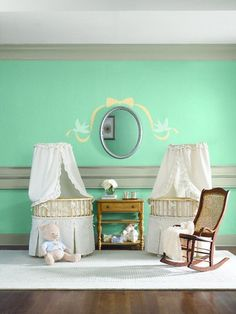 This Sweet Nursery Room Inspiration Is Perfect For Your Growing Family