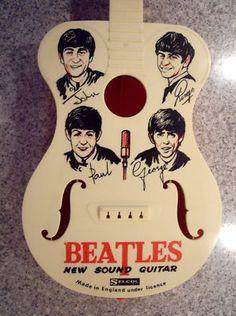 Beatles Plastic Toy Guitar