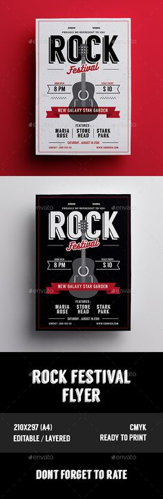 Band Tour Flyer\/Poster Flyer template, Template and Fonts - missing flyer template