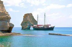 Kleftiko  Milos island.... Hellas.