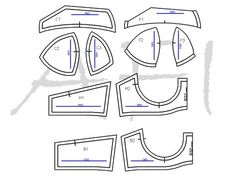 Sewing Bra Pattern Free: Maya Bra by Anabelle Delgado | posted in: Free Sewing Patterns, Lingerie, Plus