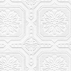 "You'll love the Paintable 33' x 20.5"" Damask 3D Embossed Wallpaper Roll at AllModern - With Great Deals on modern Décor + Pillows products and Free Shipping on most stuff, even the big stuff."